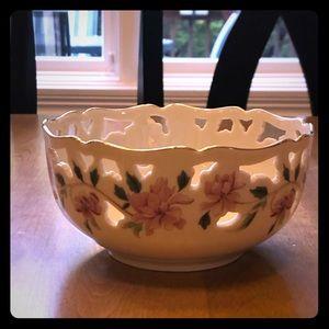"Lenox Porcelain Barrington 6"" Decorative Bowl"